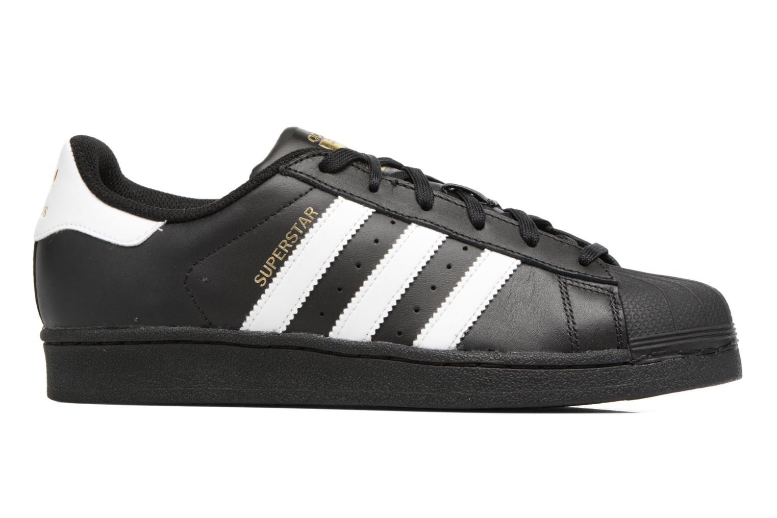 Baskets Adidas Originals Adidas Superstar Foundation W Noir vue derrière